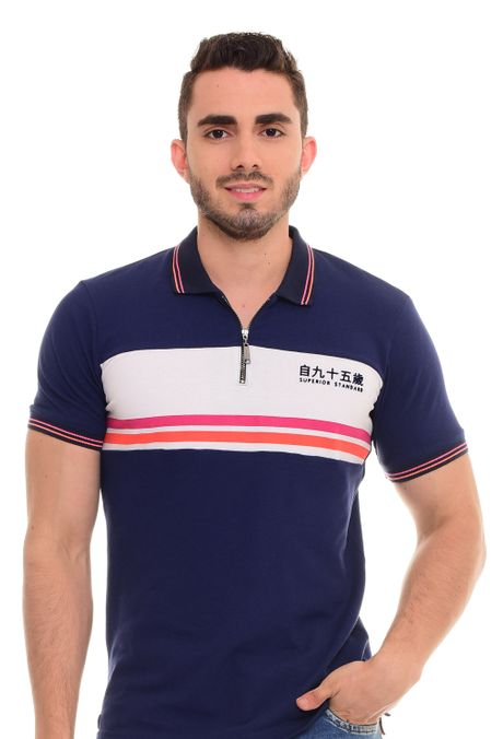 Polo-QUEST-Slim-Fit-QUE162180001-16-Azul-Oscuro-1