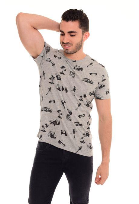 Camiseta-QUEST-Slim-Fit-QUE163180008-86-Gris-Jaspe-Medio-1