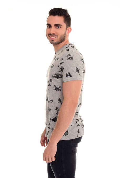 Camiseta-QUEST-Slim-Fit-QUE163180008-86-Gris-Jaspe-Medio-2