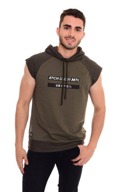 Sweatshirt-QUEST-QUE123180008-38-Verde-Militar-1
