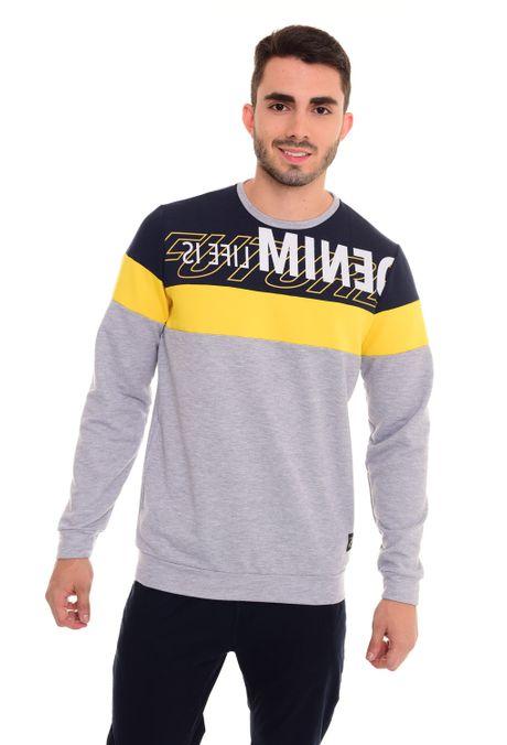 Sweatshirt-QUEST-QUE123180009-42-Gris-Jaspe-1