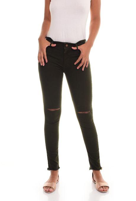 Pantalon-QUEST-Skinny-Fit-QUE209180001-38-Verde-Militar-1