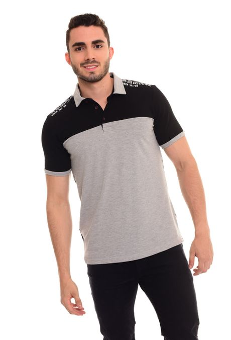 Polo-QUEST-Slim-Fit-QUE162180020-86-Gris-Jaspe-Medio-1