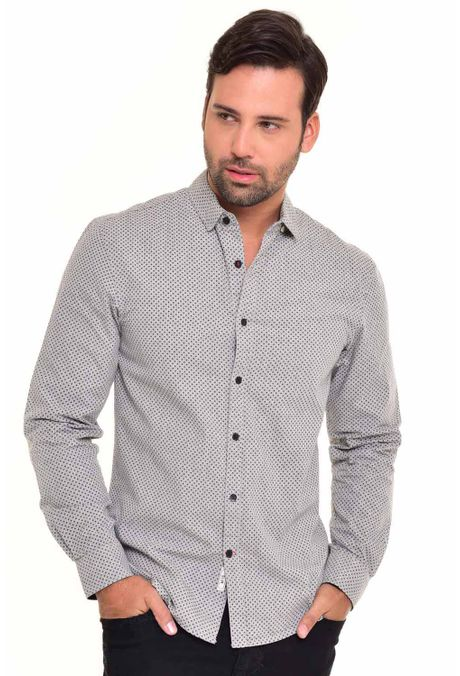 Camisa-QUEST-Slim-Fit-QUE111170054-86-Gris-Jaspe-Medio-1
