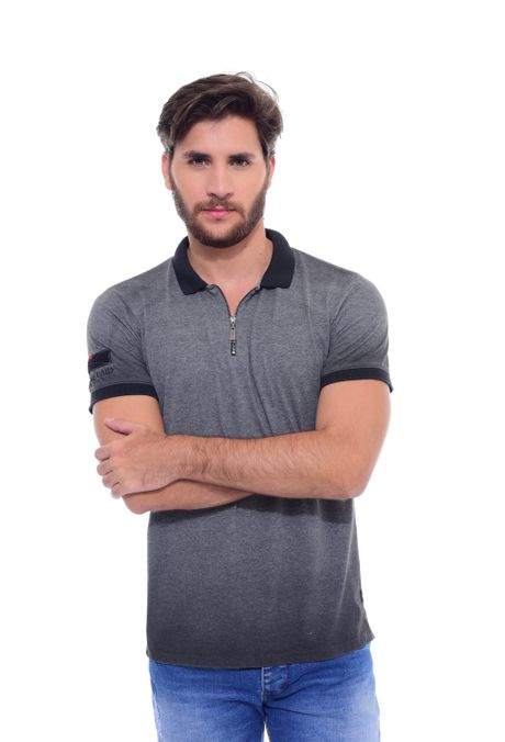 Polo-QUEST-Slim-Fit-QUE162170078-81-Gris-Jaspe-Oscuro-1