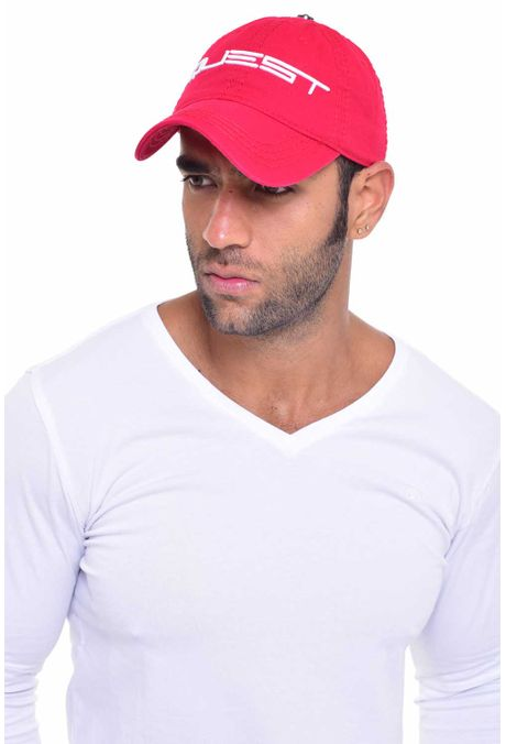 Gorra-QUEST-Custom-Fit-106010030-12-Rojo-2