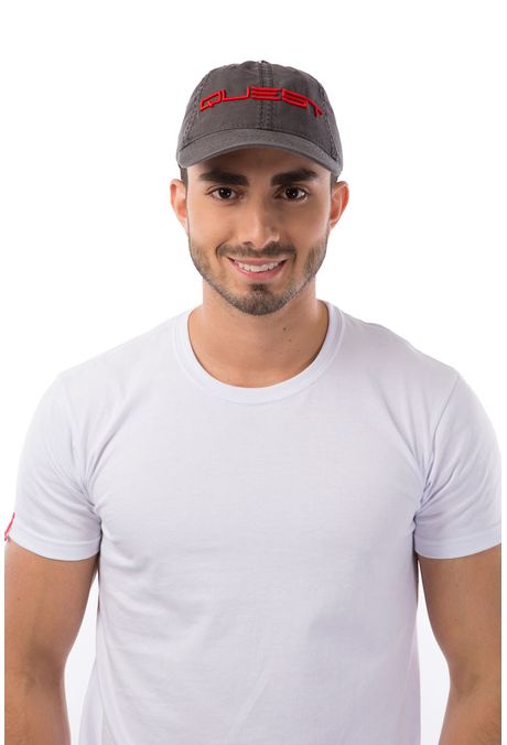 Gorra-QUEST-Custom-Fit-106010030-36-Gris-Oscuro-1