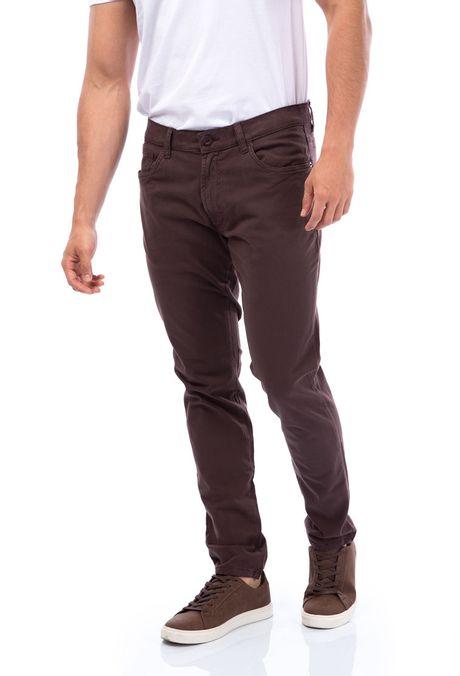 Pantalon-QUEST-Slim-Fit-109011600-23-Cafe-1