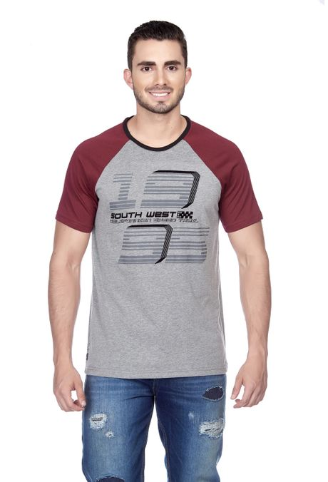 Camiseta-QUEST-Slim-Fit-QUE112180053-86-Gris-Jaspe-Medio-1