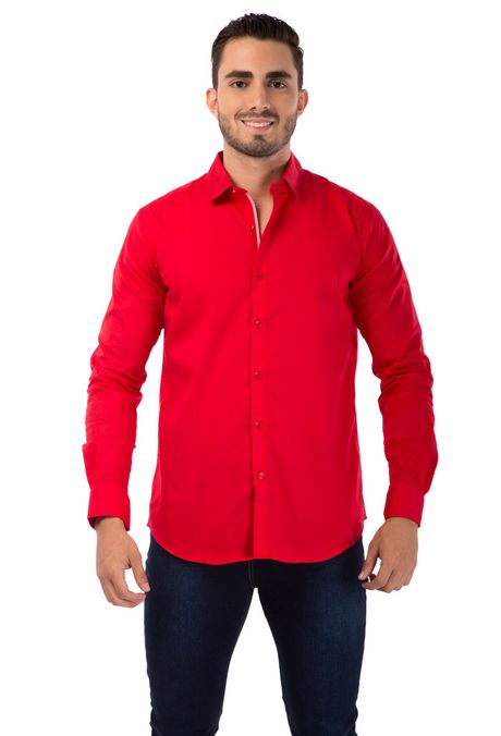 Camisa-QUEST-Slim-Fit-QUE111BA0009-56-Rojo-Cereza-1