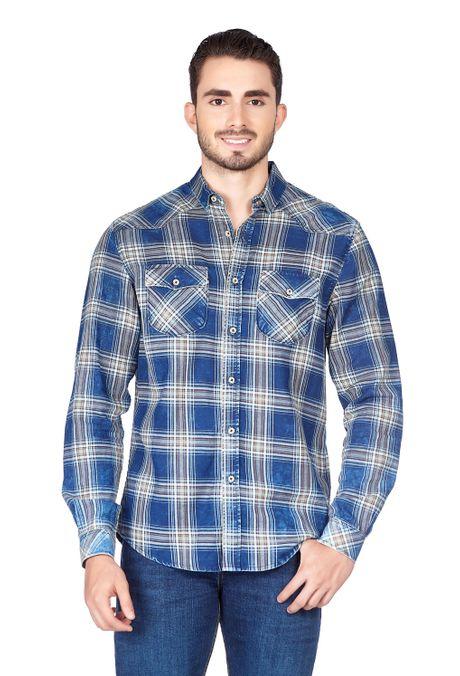 Camisa-QUEST-Original-Fit-QUE111180042-48-Azul-Oscuro-Indigo-1
