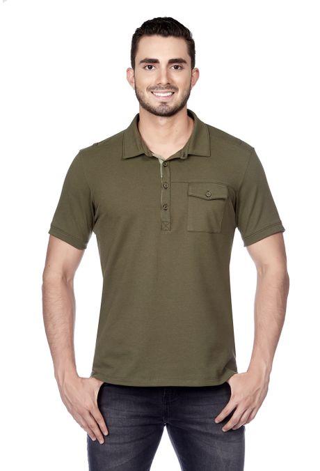 Polo-QUEST-Slim-Fit-QUE162180027-38-Verde-Militar-1