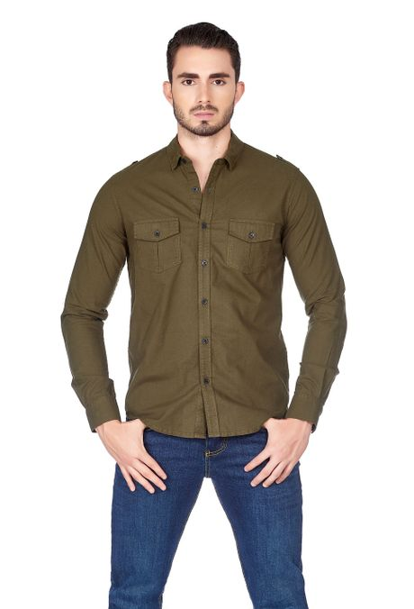 Camisa-QUEST-Slim-Fit-QUE111180058-38-Verde-Militar-1
