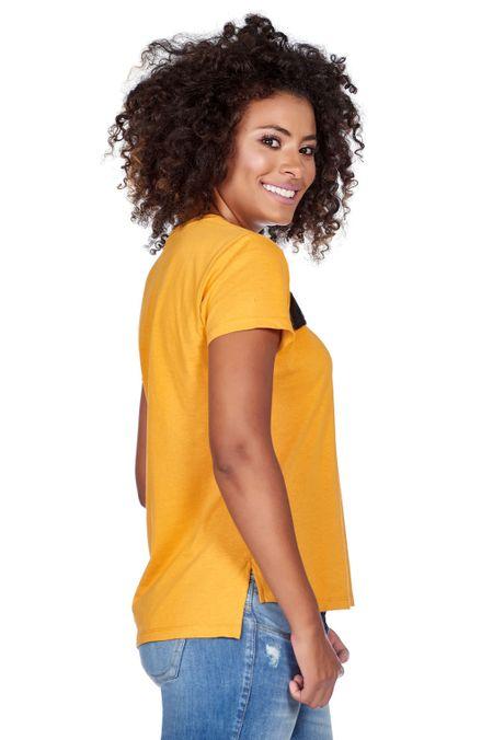 Camiseta-QUEST-QUE201180118-50-Mostaza-2