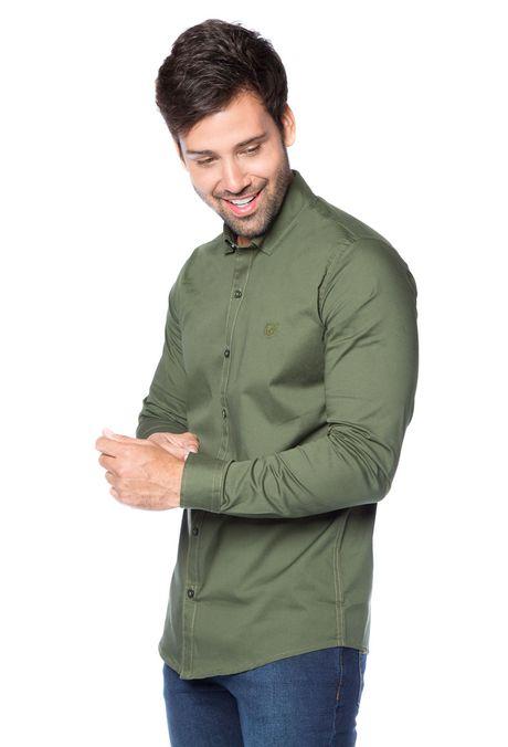 Camisa-QUEST-Slim-Fit-QUE111BA0010-38-Verde-Militar-2