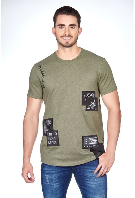 Camiseta-QUEST-Original-Fit-QUE112180067-38-Verde-Militar-1