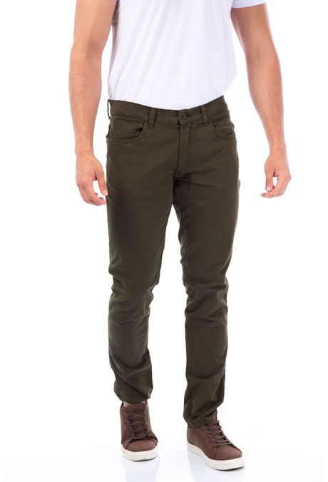 Pantalon-QUEST-Slim-Fit-QUE109BA0008-38-Verde-Militar-1