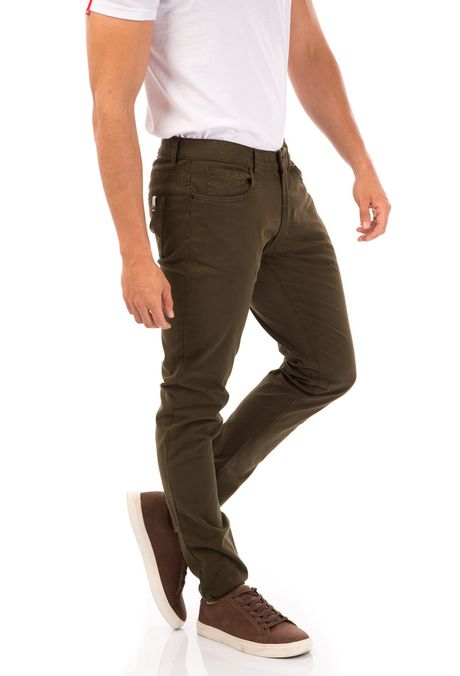Pantalon-QUEST-Slim-Fit-QUE109BA0008-38-Verde-Militar-2