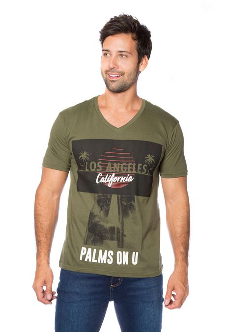 Camiseta-QUEST-Slim-Fit-QUE163BS0034-38-Verde-Militar-1