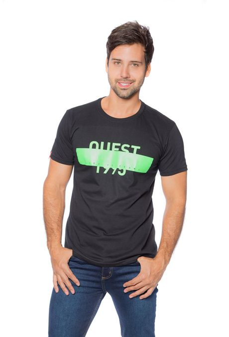 Camiseta-QUEST-Slim-Fit-QUE163BS0048-19-Negro-1
