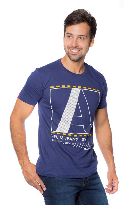 Camiseta-QUEST-Slim-Fit-QUE163BS0039-16-Azul-Oscuro-1