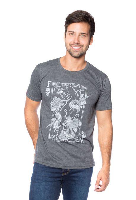 Camiseta-QUEST-Slim-Fit-QUE163BS0052-81-Gris-Jaspe-Oscuro-1