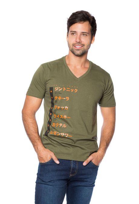 Camiseta-QUEST-Slim-Fit-QUE163BS0090-38-Verde-Militar-1