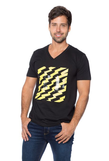 Camiseta-QUEST-Slim-Fit-QUE163BS0087-19-Negro-1