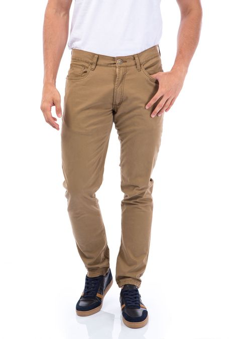 Pantalon-QUEST-Slim-Fit-109011600-22-Kaki-1