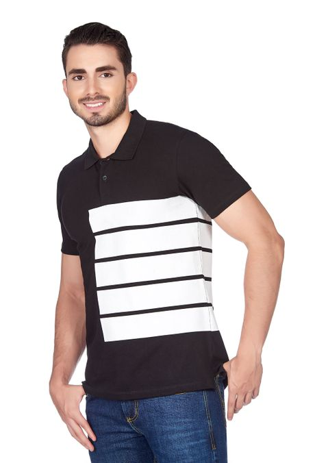 Polo-QUEST-Slim-Fit-QUE162180024-19-Negro-2