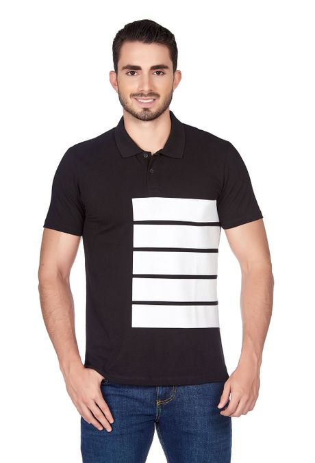 Polo-QUEST-Slim-Fit-QUE162180024-19-Negro-1