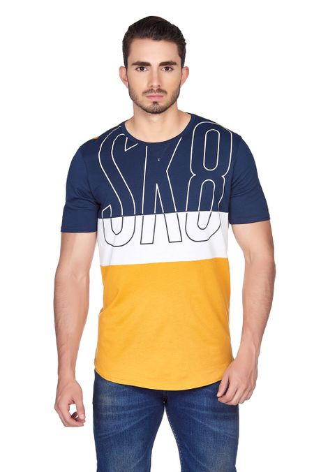 Camiseta-QUEST-Slim-Fit-QUE112180084-50-Mostaza-1