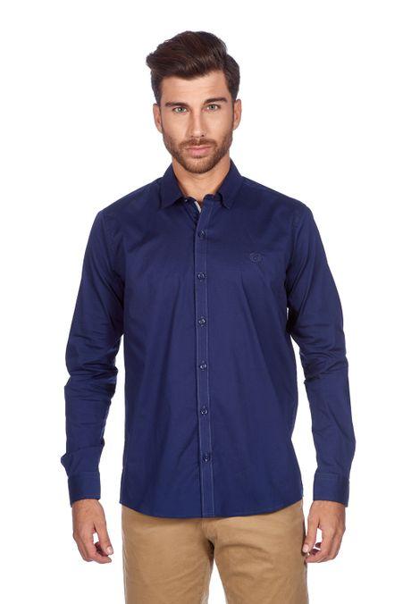 Camisa-QUEST-Slim-Fit-QUE111BA0009-16-Azul-Oscuro-1