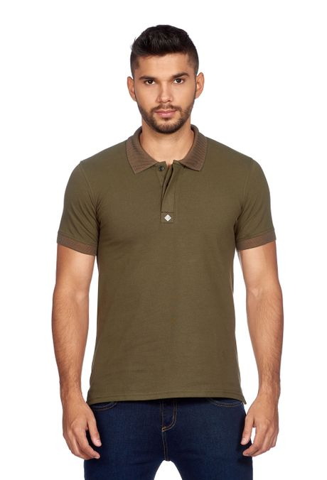 Polo-QUEST-Slim-Fit-QUE162170041-38-Verde-Militar-1