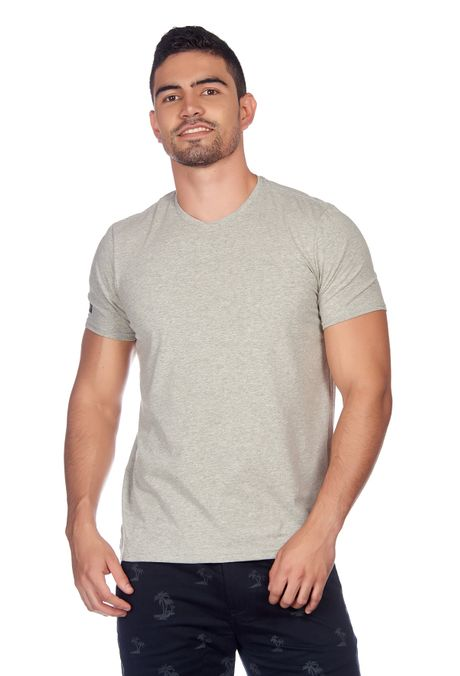 Camiseta-QUEST-Slim-Fit-QUE112180036-86-Gris-Jaspe-Medio-1