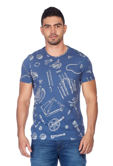 Camiseta-QUEST-Original-Fit-QUE163180022-16-Azul-Oscuro-1