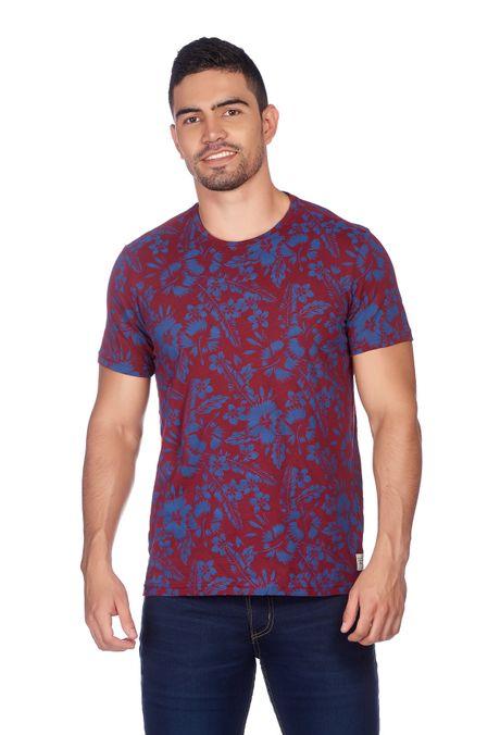 Camiseta-QUEST-QUE163180041-37-Vino-Tinto-1