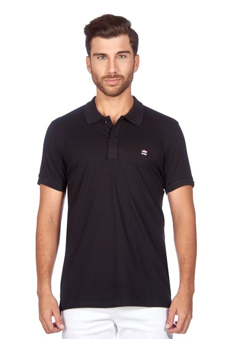Polo-QUEST-Slim-Fit-QUE162BA0011-19-Negro-1