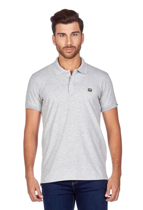 Polo-QUEST-Slim-Fit-QUE162BA0011-42-Gris-Jaspe-1