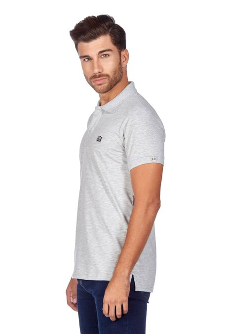 Polo-QUEST-Slim-Fit-QUE162BA0011-42-Gris-Jaspe-2