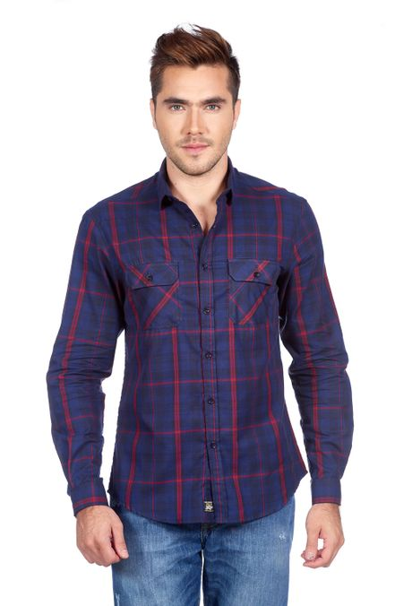 Camisa-QUEST-Original-Fit-QUE111180067-16-Azul-Oscuro-1