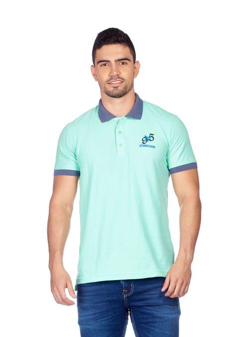 Polo-QUEST-Slim-Fit-QUE162180117-79-Verde-Menta-1