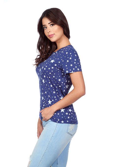 Camiseta-QUEST-QUE263180037-16-Azul-Oscuro-2