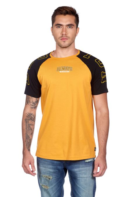 Camiseta-QUEST-Slim-Fit-QUE112180109-62-Amarillo-Oscuro-1