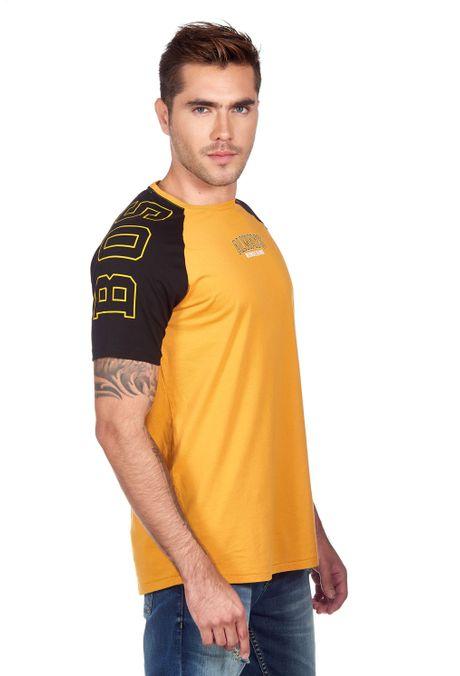 Camiseta-QUEST-Slim-Fit-QUE112180109-62-Amarillo-Oscuro-2