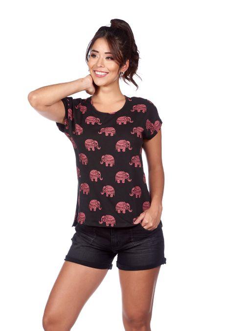Camiseta-QUEST-QUE263180033-19-Negro-1