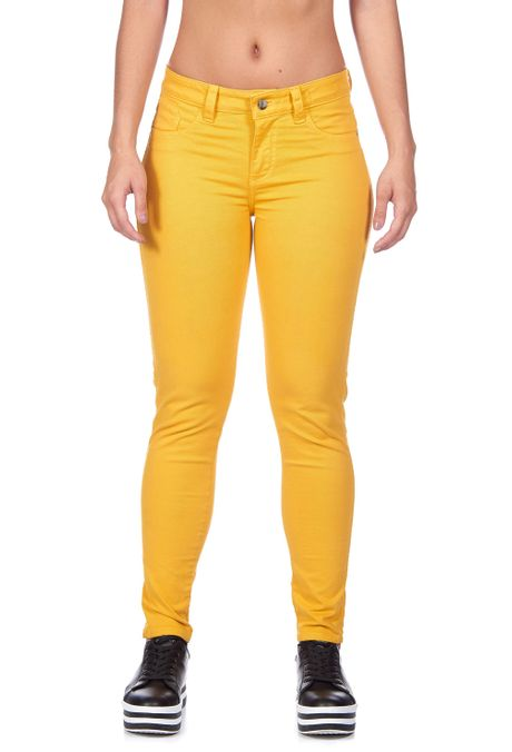 Pantalon-QUEST-Skinny-Fit-QUE209180020-50-Mostaza-1