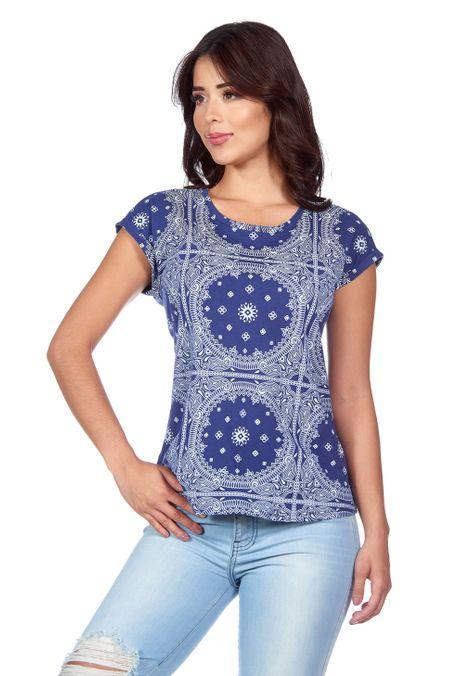 Camiseta-QUEST-QUE263180031-16-Azul-Oscuro-1