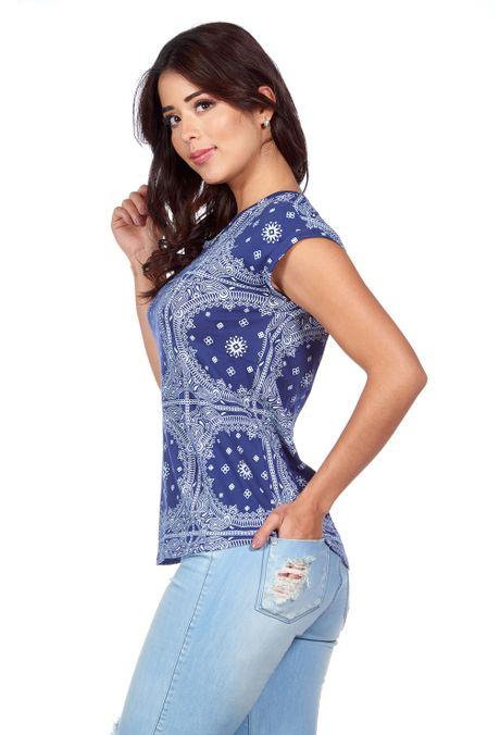 Camiseta-QUEST-QUE263180031-16-Azul-Oscuro-2