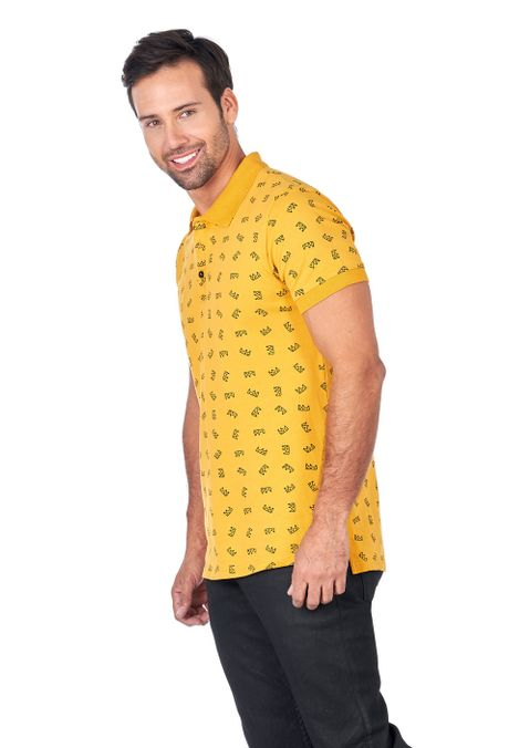 Polo-QUEST-Slim-Fit-QUE162180098-50-Mostaza-2